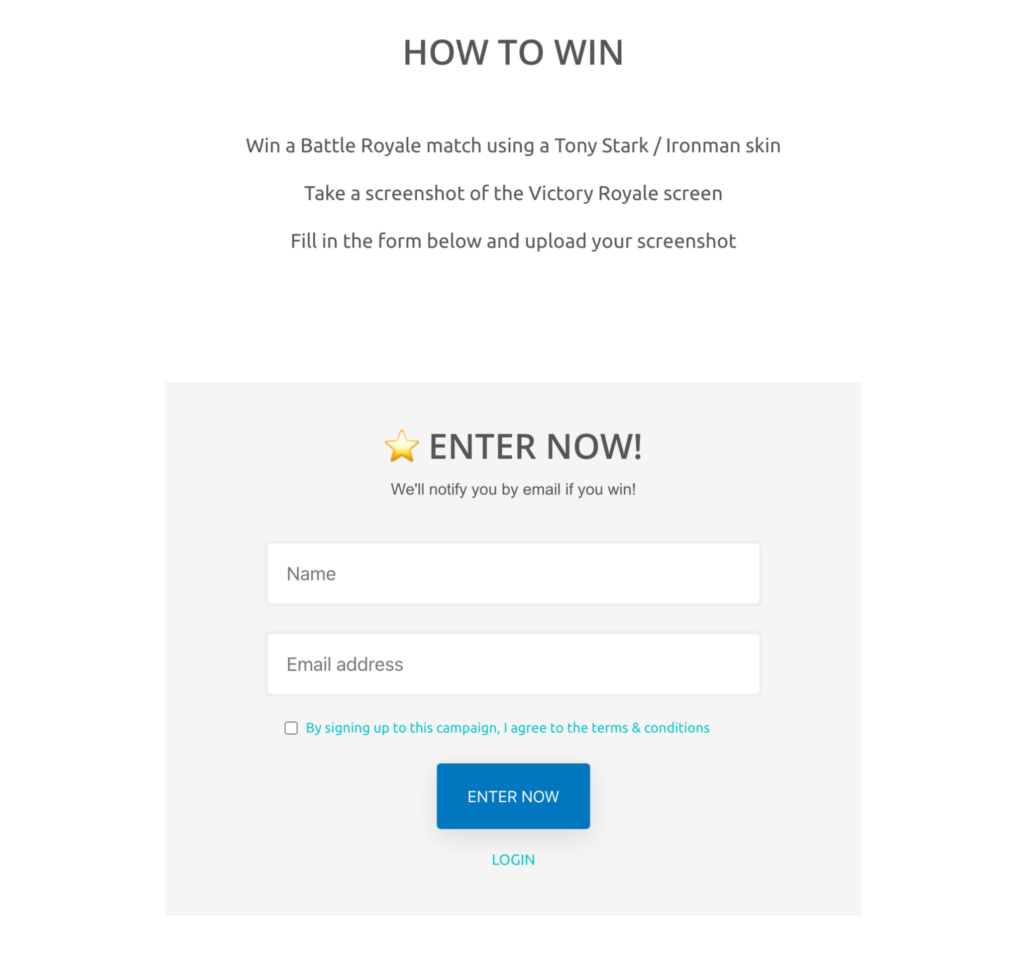 vyper giveaway example