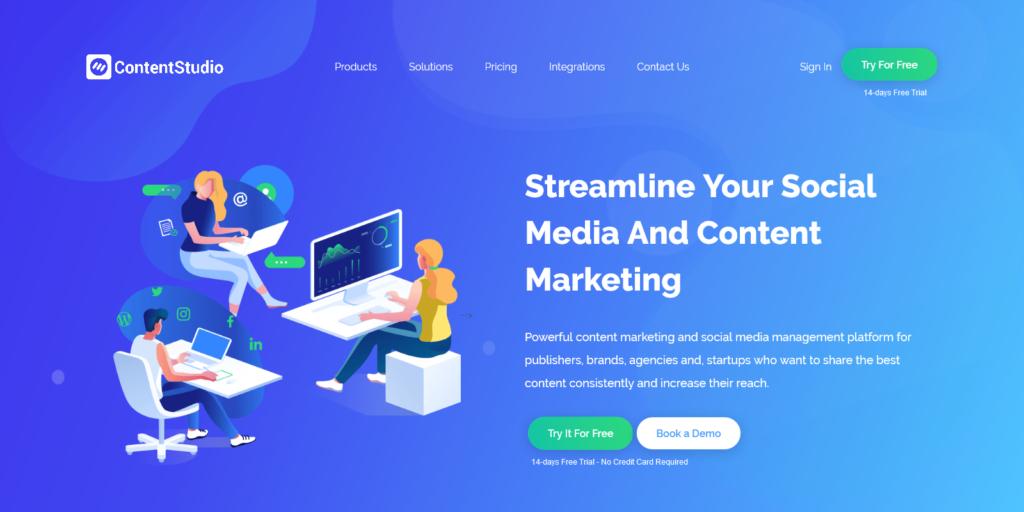 ContentStudio Discovery Curation Social Media Management Platform