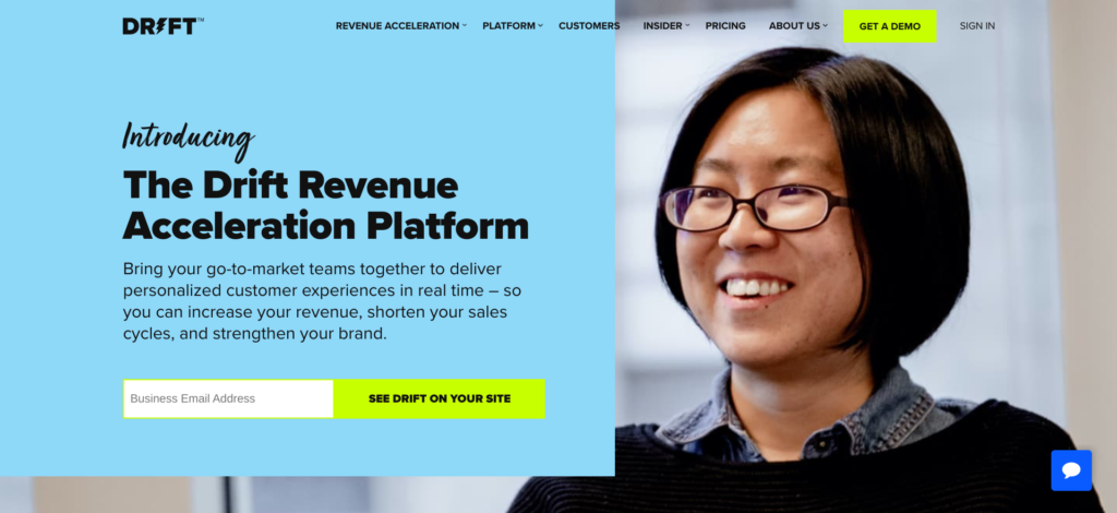 Drift Revenue Acceleration Platform