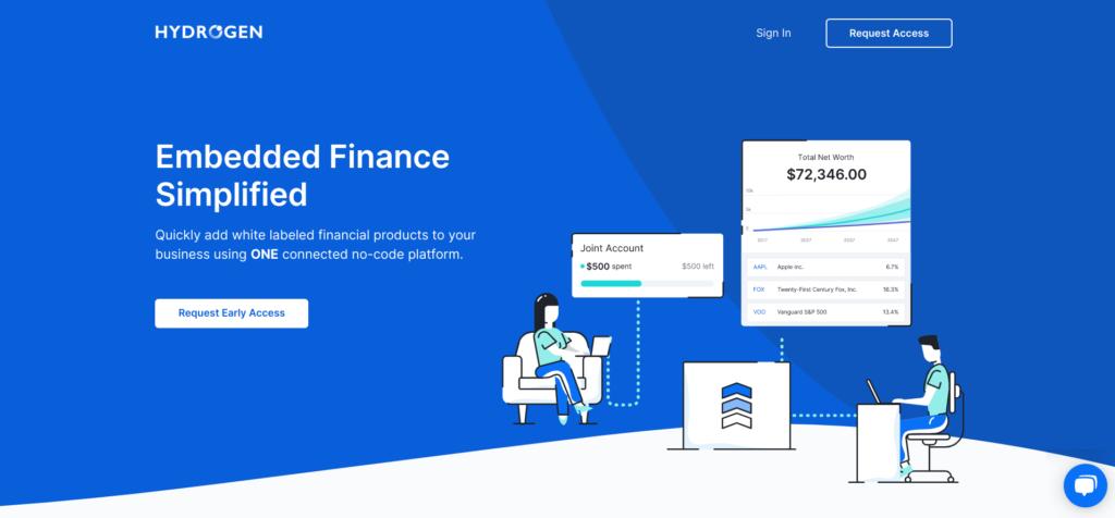 Hydrogen Financial Platform and APIs