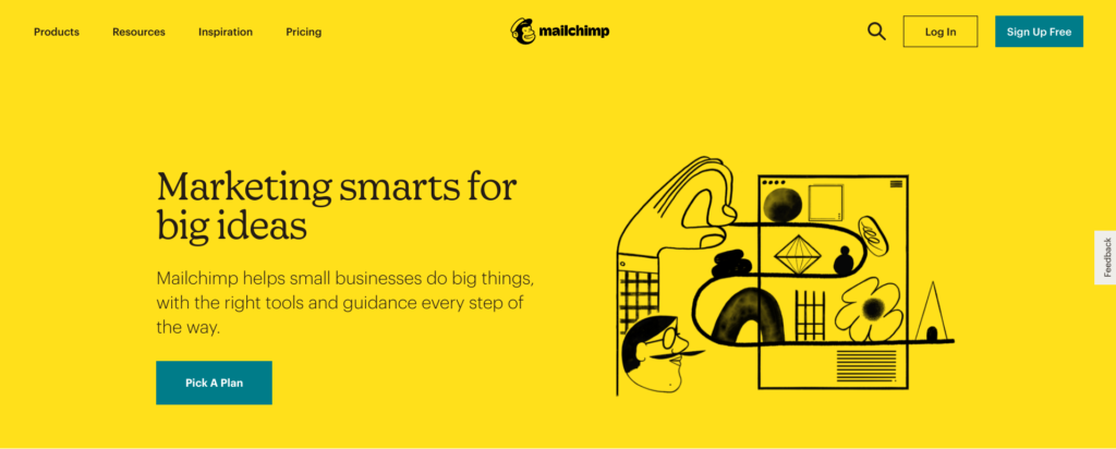 Mailchimp All In One Integrated Marketing Platform for Small Business