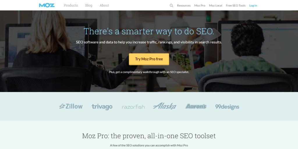 Moz SEO Software for Smarter Marketing