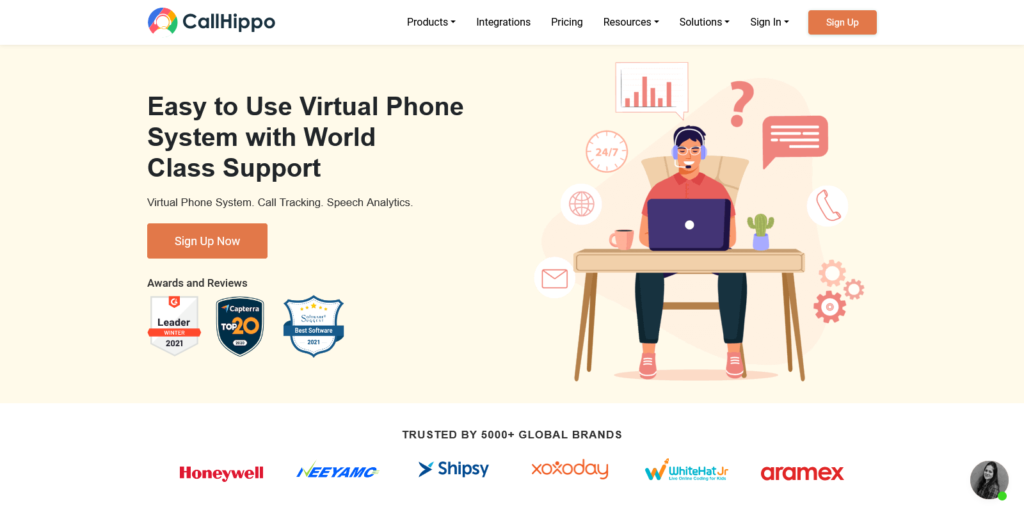 CallHippo Virtual Phone System For Business