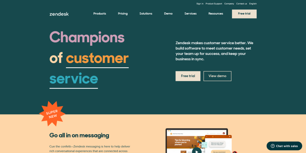 Customer Service Software Sales CRM Best in 2021 from Zendesk