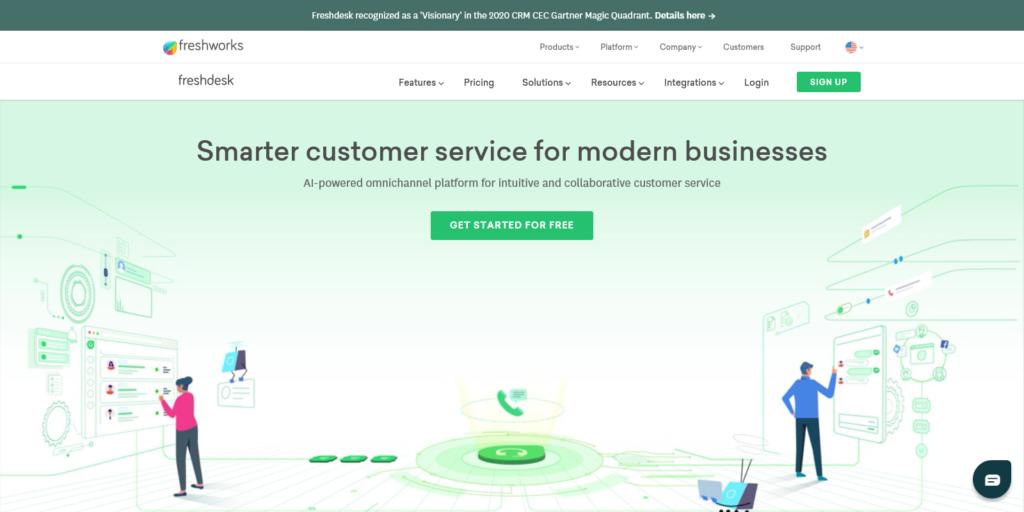 Freshdesk Customer support software by Freshworks