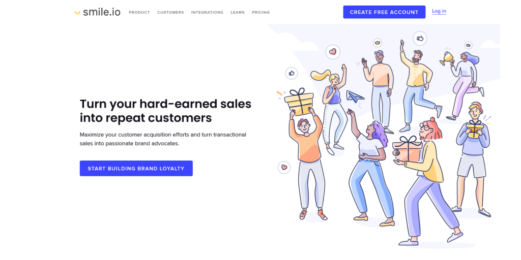 Smile io Easy to use loyalty programs for small businesses