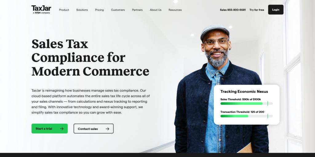 TaxJar Sales Tax Compliance for Modern Commerce