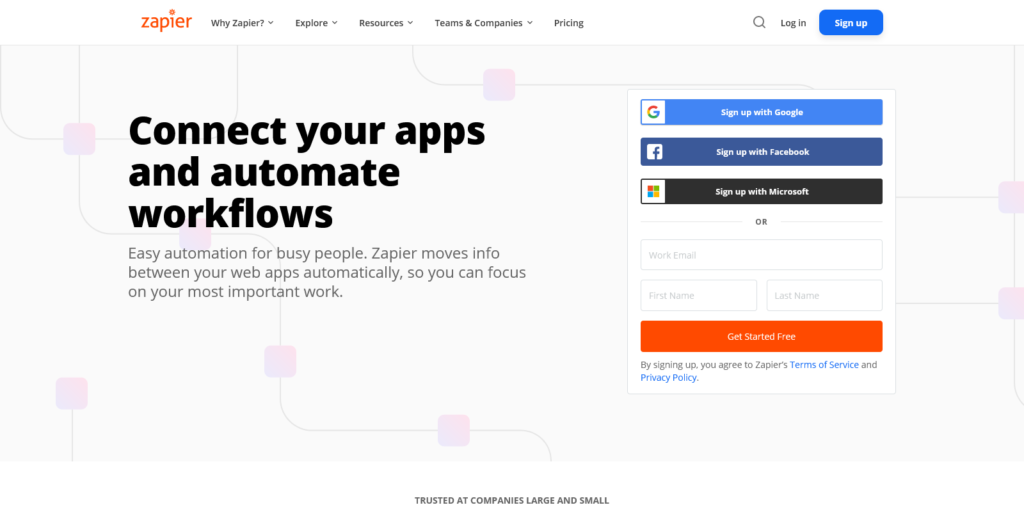 Zapier The easiest way to automate your work