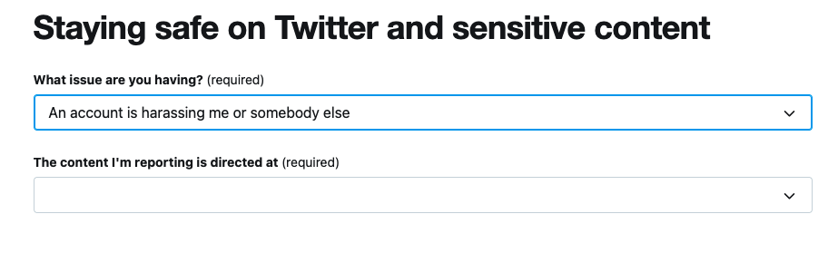 twitter Predictive Searching example
