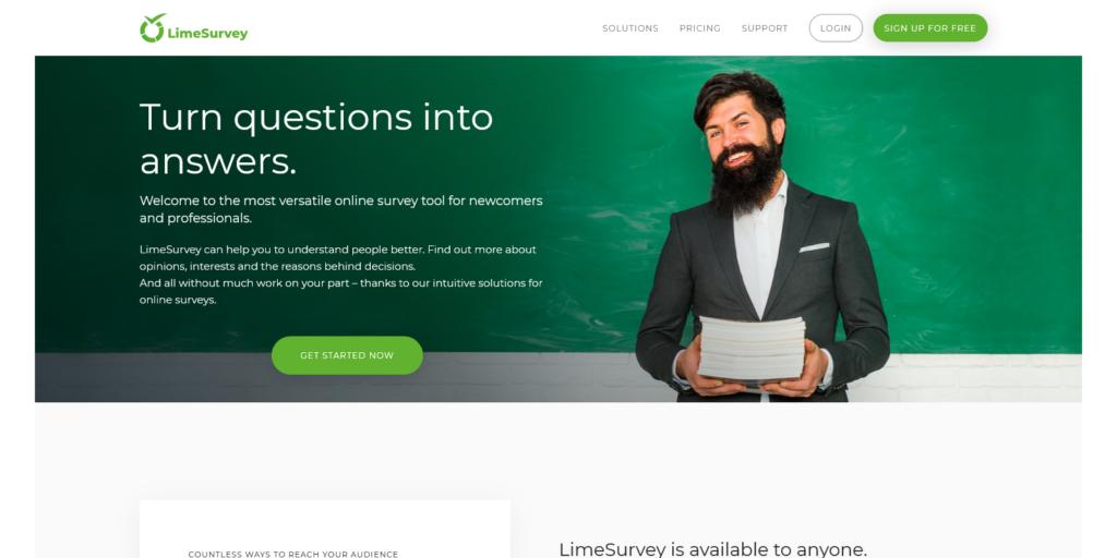 LimeSurvey Easy online survey tool