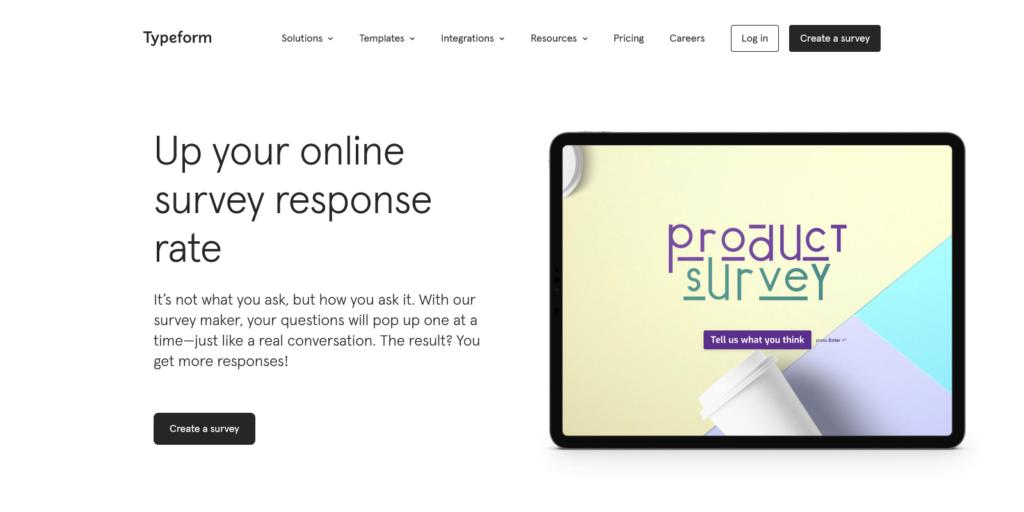 Survey Maker Create Free Online Questionnaires Typeform