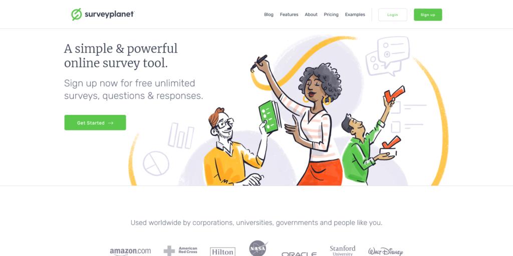 SurveyPlanet Free Online Survey Maker