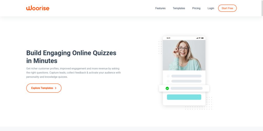 Quiz Maker – Create Free Online Quiz – Woorise