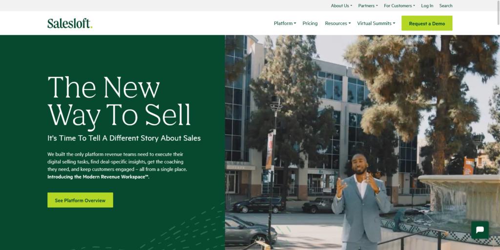Salesloft The Leading Sales Engagement Platform