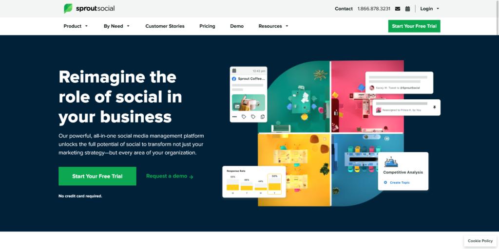 Sprout Social Social Media Management Solutions