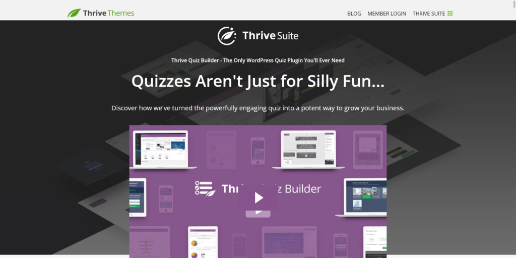 Thrive Quiz Builder Quizzes Arent Just For Silly Fun