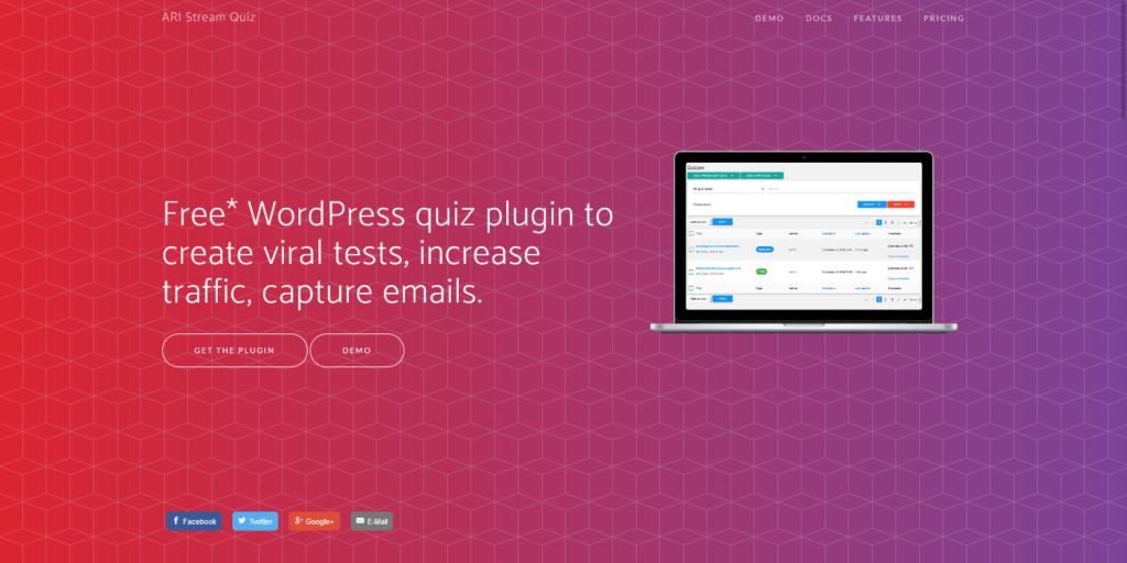 Viral Quiz Plugin WordPress