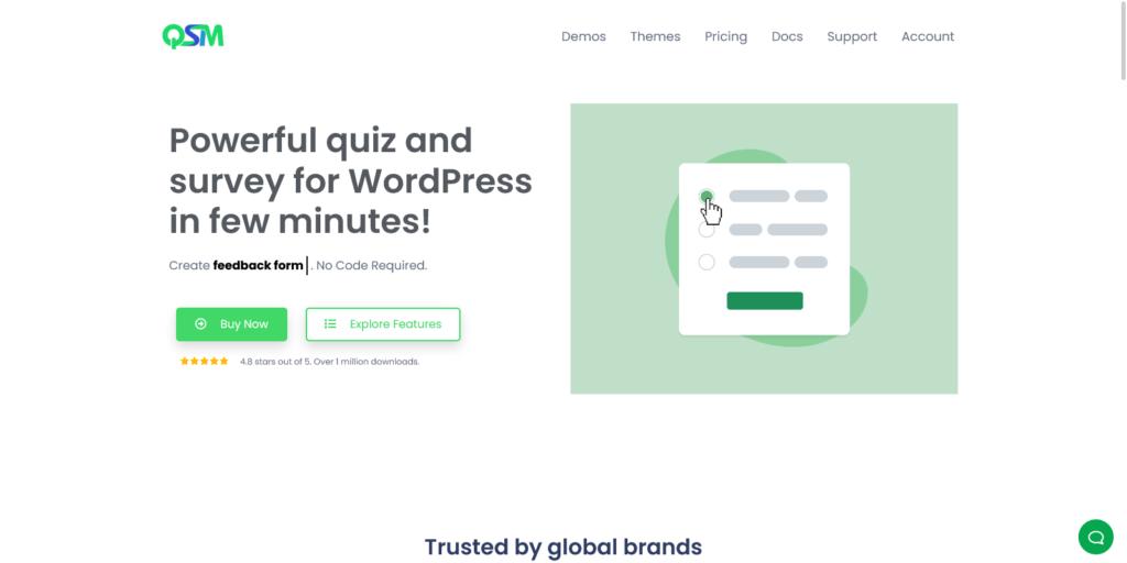 WordPress Quiz Plugin Quiz and Survey Master