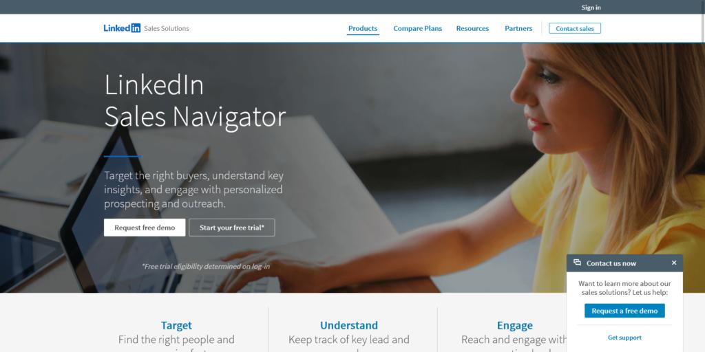 Sales Tool for Prospecting Insights LinkedIn Sales Navigator