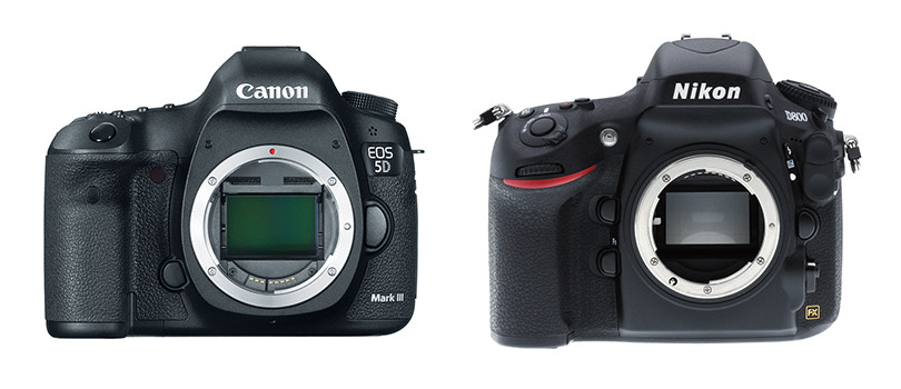 Camera Giveaway: Win a Canon 5D Mark III OR a Nikon D800