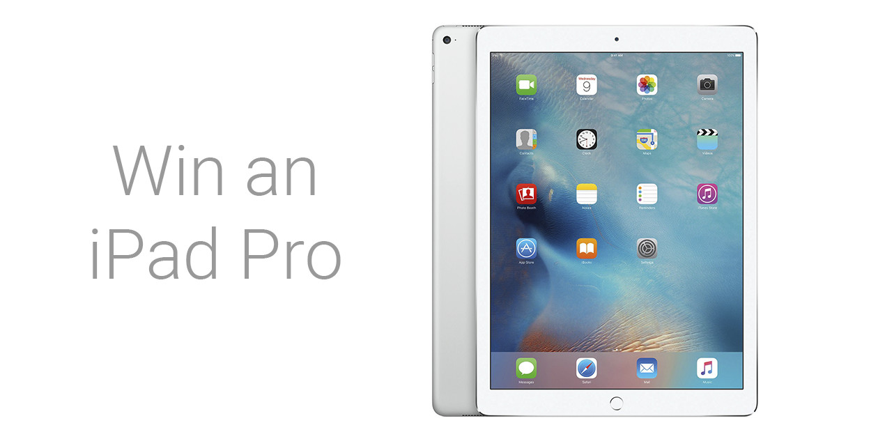 Woorise Giveaway: Win an iPad Pro 9.7 256GB