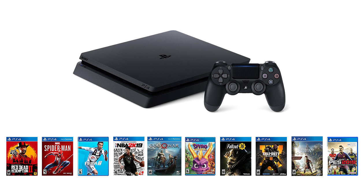 Woorise Giveaway: Win a Sony PlayStation 4 Slim + 10 Games