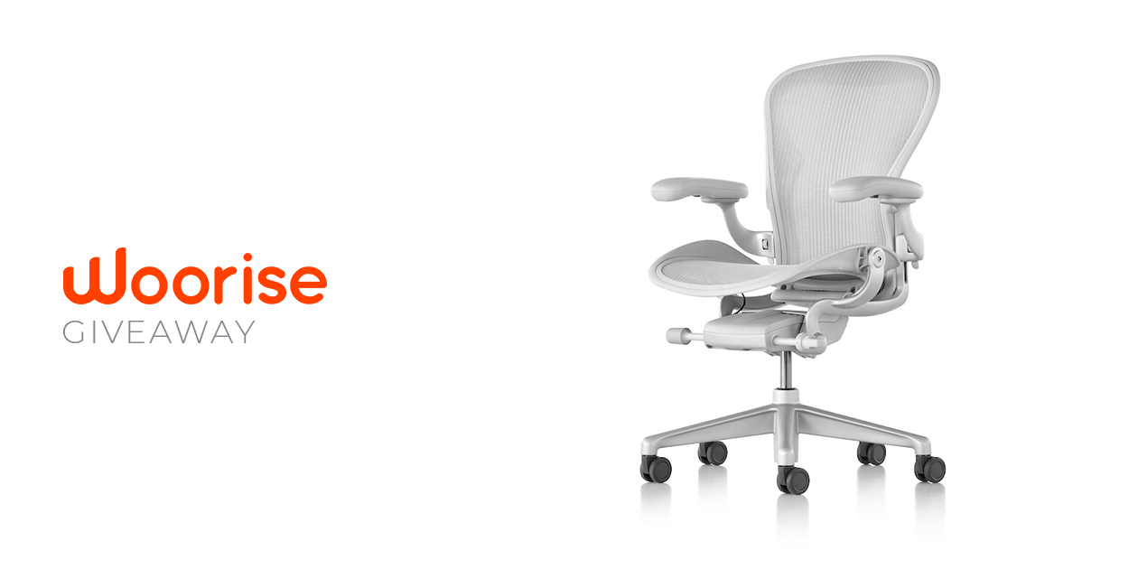 Woorise Giveaway: Win a HermanMiller Office Chair (worth $800+)