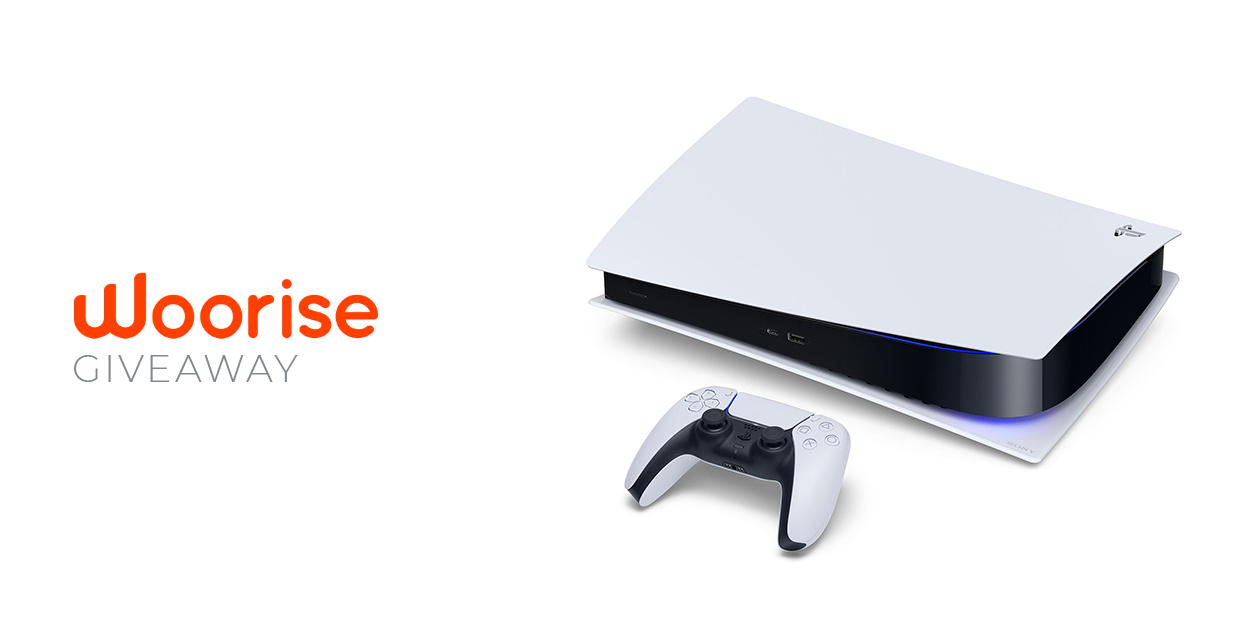 Woorise Giveaway: Win the PlayStation 5